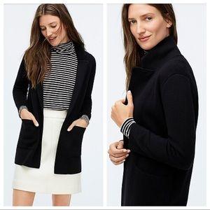 J. Crew Sophie open-front sweater-blazer